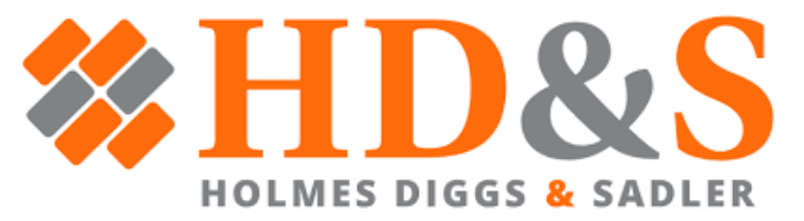Holmes Diggs & Sadler Company Logo by Judith Sadler in Houston TX