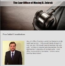 Instant-Match Lawyer Referral The Law Office of Maciej B. Zebrak in Mechanicsville VA